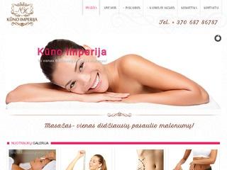 Anticeliutinis masažas Vilniuje