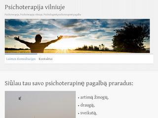 Psichoterapija Vilniuje