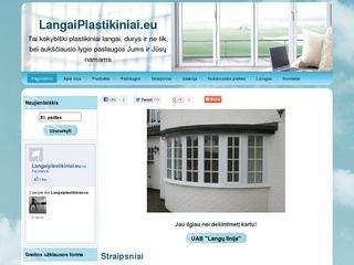 LangaiPlastikiniai.eu – plastikiniai langai