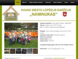 """Kauno lopšelis-darželis """"Naminukas"""""""