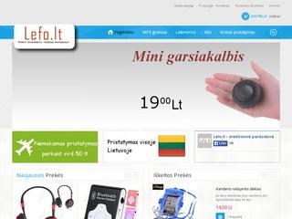 Mp3 grotuvai ir kitos elektronikos prekės.