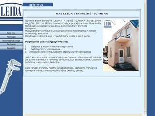 Leida statybinė technika, UAB