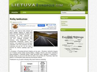 LietuvaEuropoje.com – Kokia Lietuvos pozicija Europoje?