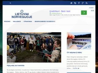 Darbas Norvegijoje, gyvenimas Norvegijoje, Norvegijos naujienos – Norvegijos lietuvių bendruomenė