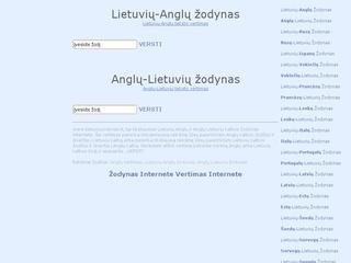 Anglų lietuvių