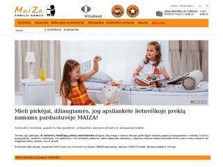 MAIZA lietuviški čiužiniai, pagalvės, baldai, interjero prekės