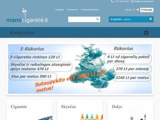 Prekyba elektroninėmis cigaretėmis, skysčiais ir aksesuarais