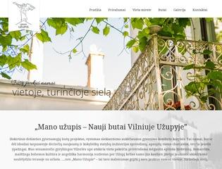 Mano užupis – Nauji butai Vilniuje Užupyje