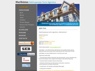Maribūstas, nekilnojamojo turto agentūra