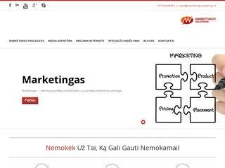Marketingo Valdymo Agentūra – marketingo paslaugos