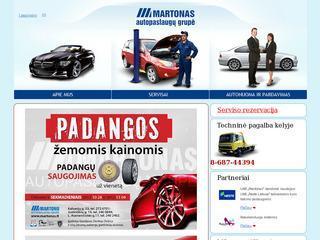 Martonas  – autoservisai Vilniuje, kebulų remontas, auto dalys