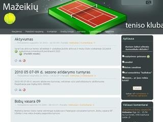 Mažeikių teniso klubas