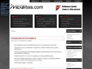 MEGlitas.com – Reklamos darbai