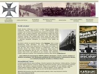 Vienintelė Lietuvoje svetainė karo kolekcininkams