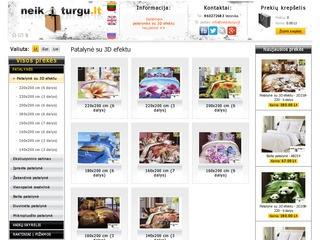 Naktiniai, pižamos, cahaltėliai iš www.neikiturgu.lt