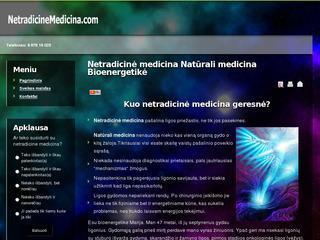 Netradicinė medicina