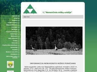 Nemenčinės miškų urėdija