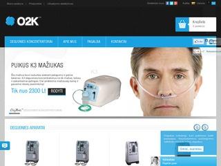 O2K fizioterapijos įranga
