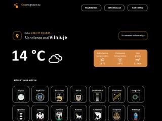 Oruprognoze.EU – Orų prognozė Lietuvoje