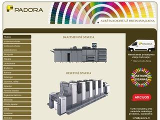 Spaudos darbai, spausdinimo paslaugos, spausdinta produkcija