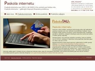 Paskolos internetu. Smulkieji kreditai