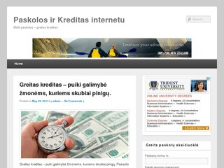Paskolos ir kreditai internetu