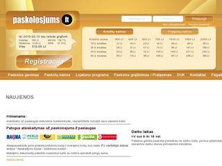 Paskolos internetu / Kreditas internetu