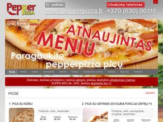 """""""Pepperpizza"""" – picerija Kaune"""