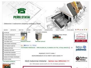 Statybinės medžiagos gerom kainom su perki-statai