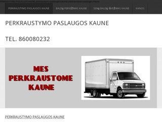 Perkraustymo paslaugos Kaune