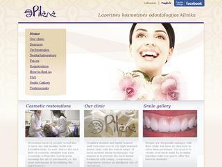 """""""Pilėnė"""" – lazerinės kosmetinės odontologijos klinika"""