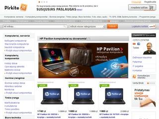 Pirkite.lt – kompiuterinės technikos ir paslaugų internetinė parduotuvė