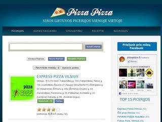 Pizza Pizza Top picerijos Lietuvoje receptai