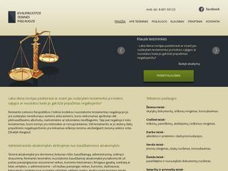 Teisininkės E. Polujanskaitės nebrangios ir kokybiškos teisinės paslaugos