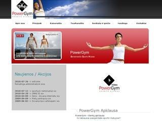 Power Gym Senamiesčio sporto klubas