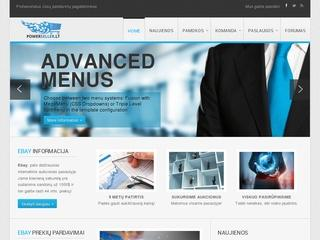 Visa reikalinga informacija elektroniniam verslui pradėti.