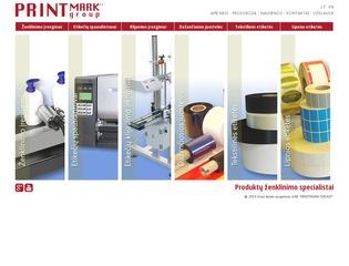 Printmark – produktų ženklinimo specialistai