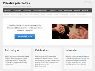 Privatus psichologas ir psichiatras Vilniuje ir internetu