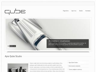 Qube dizaino studija – Internetinių svetainių kūrimas, 3D vizualizacijos ir modeliai