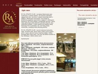 The royal athletic club, sporto klubas