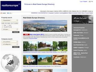 Europos nekilnojamojo turto svetainė