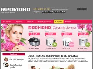 """""""Redmond"""" daugiafunkciniai puodai"""