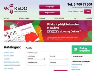 REDO – Kasečių pildymo centras
