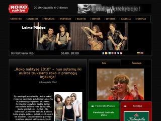 Roko naktys, tarptautinis roko muzikos festivalis