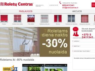 Roletai – Roletų centras