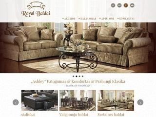 """Royal baldai"" –  Prabangi Klasika"