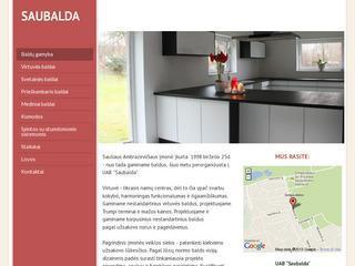Saubalda – baldų gamybos įmonė