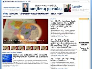 Lietuvos savivaldybiu naujienos