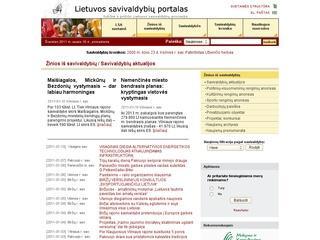 Lietuvos savivaldybių portalas