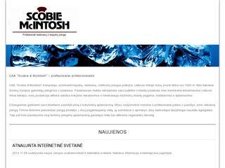 """UAB """"Scobie & McIntosh"""" – kepyklų, restoranų, viešbučių įrangos prekyba"""